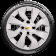 Calota Mod. Original Aro 14 Chevrolet Novo Prisma Onix Santo Andre - Abc - Sp G373