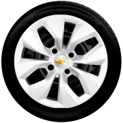 Calota Aro 14 Chevrolet Corsa Max Premium Joy Prisma Meriva G241