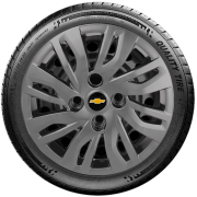Calota Grafite Mod. Original Aro 14 Chevrolet Onix 2014 A 2019 G344Gft