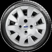 Calota Mod. Original Aro 14 Ford Fiesta Novo Ká Focus 2014 2015 2019 G343