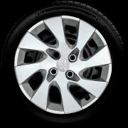 Calota Mod. Original Aro 14 Peugeot 206 208 207 307 Santo Andre - Abc - Sp G133