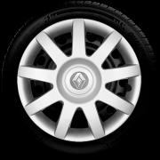 Calota Aro 14 Renault Clio Novo Sandero Logan 2019 2020 G873