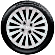 Calota Mod. Original Aro 15 Hyundai Hb20 Hb20S Santo Andre - Abc - Sp G242
