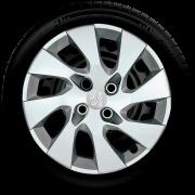 Calota Mod. Original Aro 15 Peugeot 206 207 208 307 Santo Andre - Abc - Sp G195