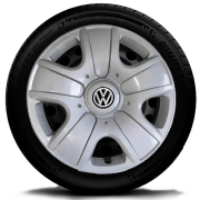Calota Mod. Original Aro 15 Volkswagen Fox Spacefox Polo Golf Gol G104