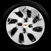 Calota Mod. Original Cromada Aro 14 Chevrolet Onix Prisma Santo Andre - Abc - Sp G133Chr