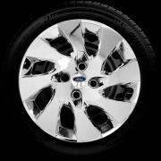 Calota Mod. Original Cromada Aro 14 Ford Ka Fiesta Focus Ecosport Santo Andre - Abc - Sp G133Chr