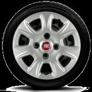 Calota Mod. Original Fiat Aro 13 Palio Siena Uno Fire Santo Andre - Abc - Sp G076