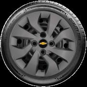 Calota Mod. Original Grafite Aro 14 Chevrolet Novo Onix E Novo Prisma G373Gft