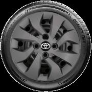 Calota Mod. Original Grafite Aro 14 Toyota Etios 2012 A 2018 G373Gft