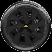 Calota Mod. Original Preto Fosco Aro 15 Chevrolet Gm Celta Corsa Max Astra Meriva Santo Andre - Abc - Sp G195Pf