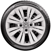 Calota Aro 14 Volkswagen Gol Parati Voyage Saveiro G245