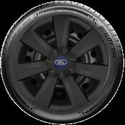 Calota Preto Fosco Mod. Original Aro 14 Ford Fiesta Ka Focus G461Pf