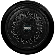 Calota Réplica De Roda Bbs Universal Aro 13 G600Pob