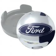 Calotinha centro de Roda Cromado Ford  55mm
