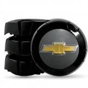 Calota Centro Miolo De Roda Trooper Preto para roda GM Aro 14/15