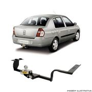 Engate Reboque Renault Clio Sedan Santo Andre - ABC - SP