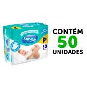 FRALDA BABY DESCARTÁVEL INFANTIL TAMANHO P 50 UNIDADES