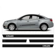 Friso Borrachão Lateral Chevrolet Cruze 2005 a 2020