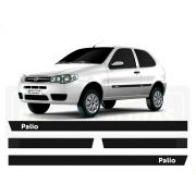 Friso Borrachão Lateral Fiat Palio Fire 2 portas 2000 a 2012
