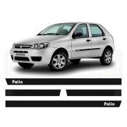 Friso Borrachão Lateral Fiat Palio Fire 4 portas 2000 a 2012