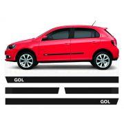 Friso Borrachão Lateral Volkswagen Gol