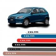 Friso Lateral Personalizado Para Chevrolet Celta