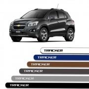 Friso Lateral Personalizado Para Chevrolet Tracker
