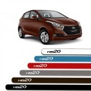 Friso Lateral Personalizado Hyundai HB20 2013 a 2019