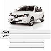 Friso Lateral Personalizado Para Renault Clio Branco
