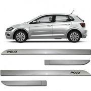 Friso Novo Polo Prata Sirius Facão Personalizado - VW7062PTAS