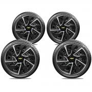 Calota Elitte 4pçs Gm Onix Corsa Celta E4116J