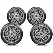Jogo Calota Elitte Aro 13 Ford Ka Fiesta E3052J