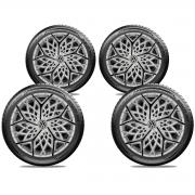 Jogo Calota Elitte Aro 13 Volkswagen Saveiro Parati Gol E3052J