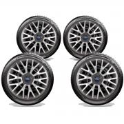 Jogo Calota Elitte Aro 14 Ford KA Fiesta Focus E4602J