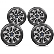 Jogo Calota Elitte Ford KA Fiesta Aro 13 E3704J