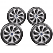Jogo Calota Elitte Aro 14 Ford Fiesta KA Focus E4701J