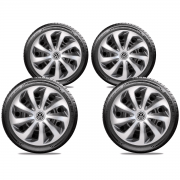 Jogo Calota Elitte Volkswagen Fox Polo Virtus Jetta Aro 15 E5701J