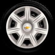 Jogo Calota 4pçs Chevrolet Onix Cobalt Cruze Prisma Aro 15 G876J