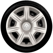 Jogo Calota 4pçs Renault Sandero Logan Aro 15 G876J