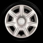 Calota Jogo 4pçs Toyota Corolla Etios Aro 15 G876J