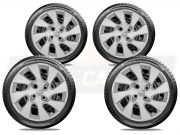 Jogo Calota Aro 14 Nissan March Versa 2013 2020 G133JE