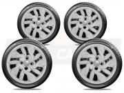 Jogo Calota Aro 14 Toyota Etios Sedan Hatch G292JE