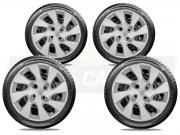 Jogo Calota Aro 15 Ford Ka Hatch Sedan 2016 2019 G195JE