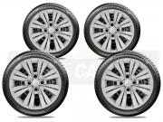 Jogo Calota Aro 15 Hyundai Hb20 Hatch Sedan 2013 2020 G246JE