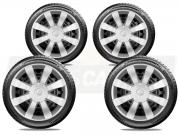 Jogo Calota Aro 15 Hyundai Hb20 Hatch Sedan 2013 2020 G875JE