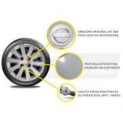 Jogo Calota Aro 15 Nissan March Versa 2013 2020 G018JE