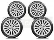 Jogo Calota Aro 15 Nissan March Versa 2013 2020 G242JE