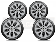 Jogo Calota Aro 15 Peugeot 208 307 306 206 207 G375JE