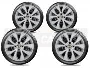 Jogo Calota Aro 15 Toyota Etios Sedan Hatch G375JE